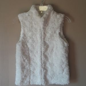 Gap Kids Teddy Sherpa faux fur vest size XL